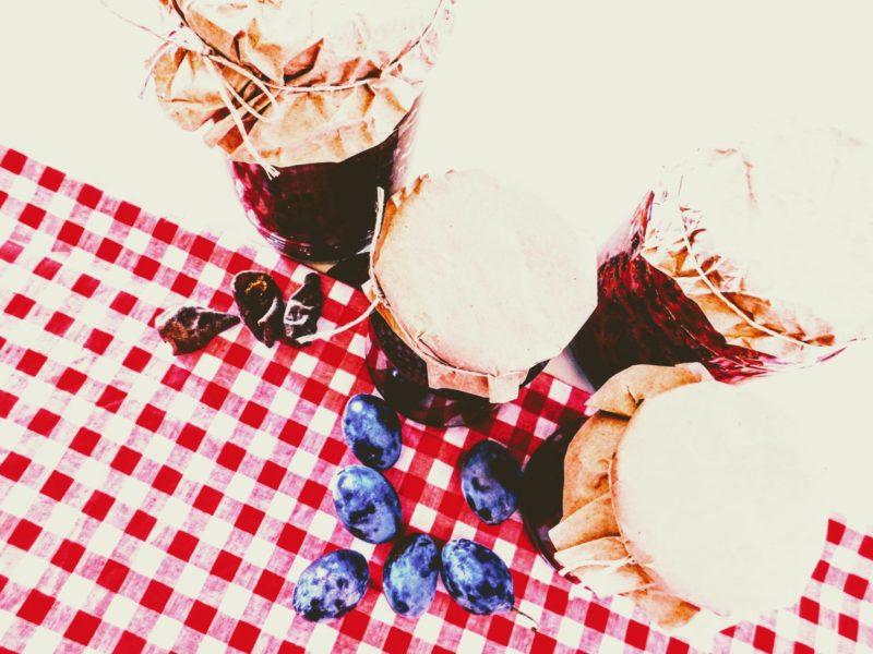 Ovocná #povidla bez cukru z podzimního ovoce + recept na kváskový ovocný koláč bez lepku, mléka a vajec