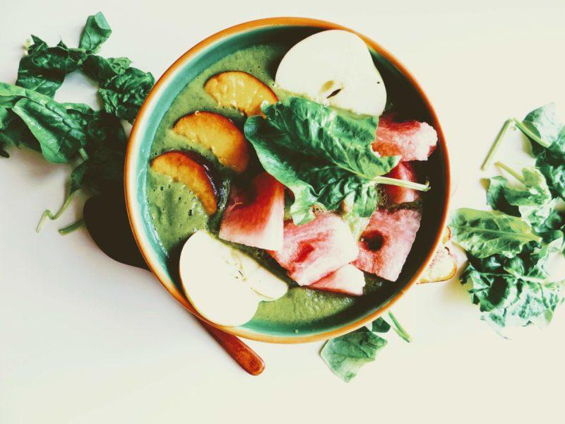 Green smoothie bowl – jako zelená pro vaše zdraví