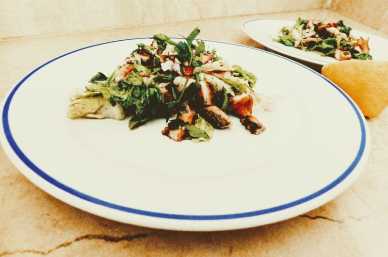 Salát z chobotnice / Octopus salad