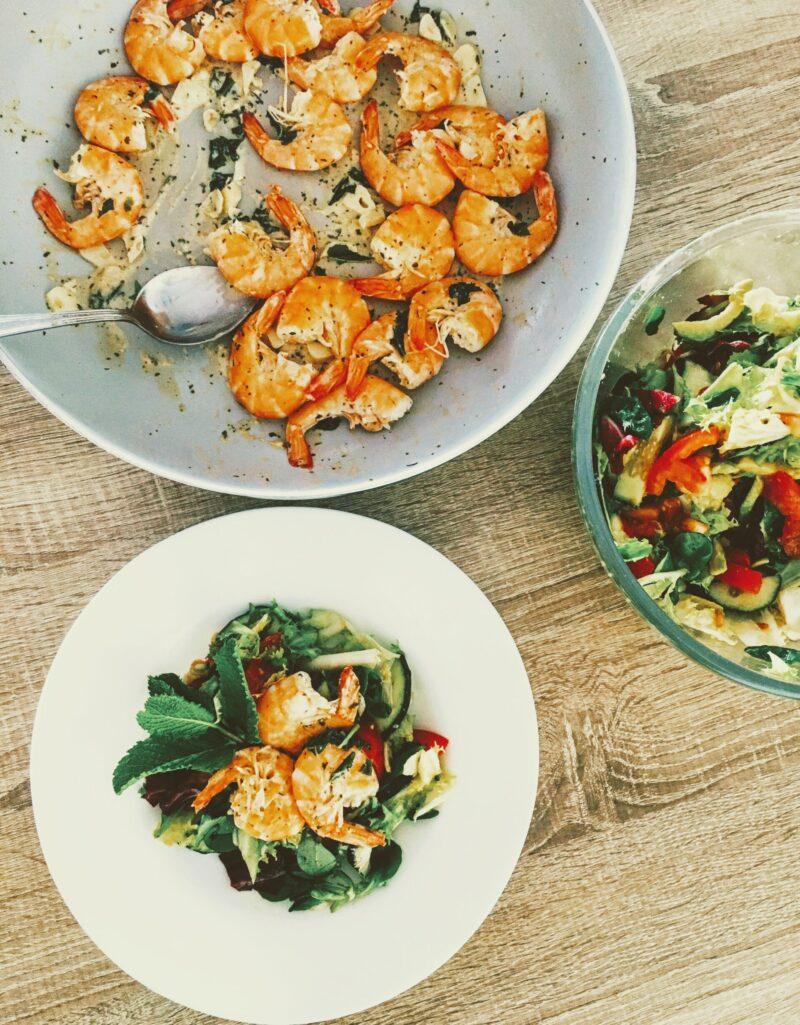 Recipe: Shrimps with lemon-butter sauce / Krevety s máslovo-citrónovým přelivem